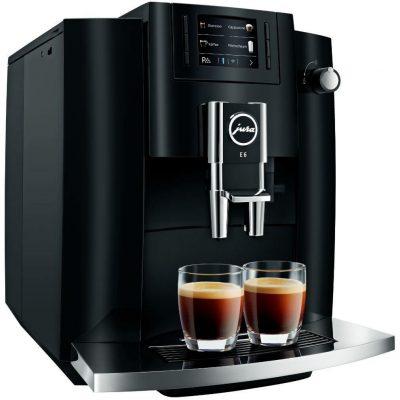 Jura E60 Black Őrlőműves automata kávéfőző