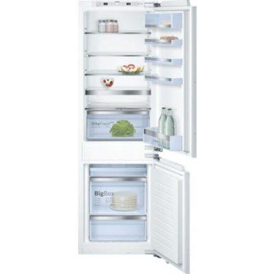 Bosch KIN86AF30 Beépíthető Alulfagyasztós hűtőszekrény, bútorlap nélkül