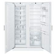 Liebherr SBS 70I4 Beépíthető side-by-side hűtőszekrény, bútorlap nélkül