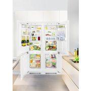 Liebherr SBS 66I3 Beépíthető side-by-side hűtőszekrény, bútorlap nélkül