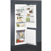 Whirlpool ART 65031 Beépíthető Alulfagyasztós hűtőszekrény, bútorlap nélkül