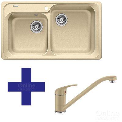 Blanco CLASSIC 8 P 513885+ DARAS P 517726 2 részes mosogató szett