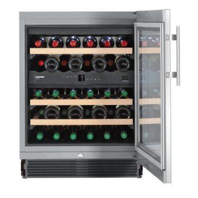 Liebherr UWTes 1672 Beépíthető borhűtő, bútorlap nélkül