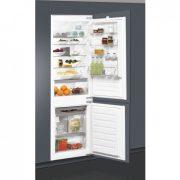 Whirlpool ART 6503/A+ Beépíthető alul fagyasztós hűtőszekrény
