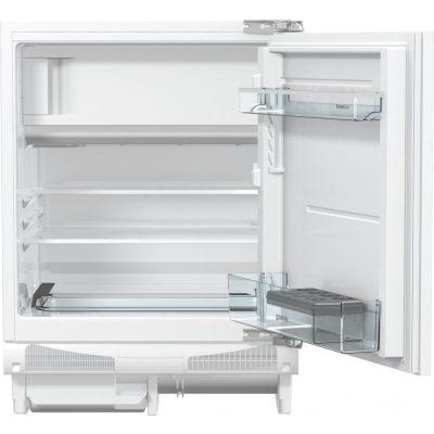 Gorenje RBIU6092AW Beépíthető egyajtós hűtőszekrény fagyasztóval, bútorlap nélkül