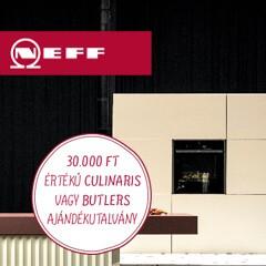 30.000 Ft értékű ajándék Neff sütőkhöz