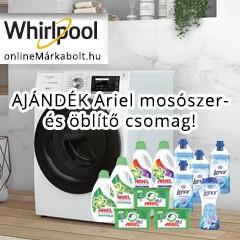 AJÁNDÉK ARIEL mosószer- és öblítő csomag Whirlpool Supreme Silence mosógépek mellé
