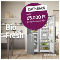 Akár 65.000Ft visszatérítés a Lieherr BioFresh Hűtőszekrényeihez!