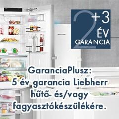 Liebherr +3 év garancia ajándékba  regisztrációért