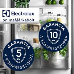Extra garancia Electrolux hűtőkészülékek kompresszorára