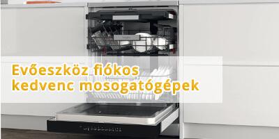 evőeszközfiókos mosogatógépek