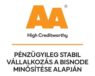 Bisnode AA tanusítvány