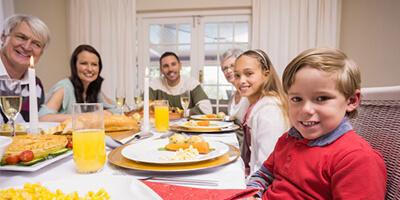 Boldogság kulcsa a közös vacsorák