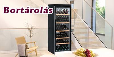 bortárolás, borhűtő, bortemperáló