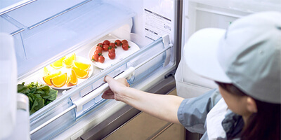 vákuumfiók a hűtőben