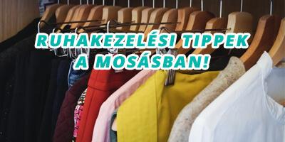 ruhakezelési tippek a mosásban