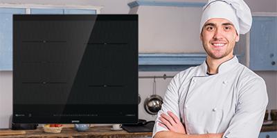 szakácsok indukciós főzőlapon