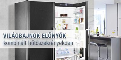 liebherr hűtő előny