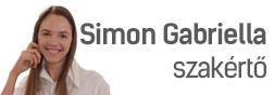 Simon Gabriella - háztartási gép szakértő