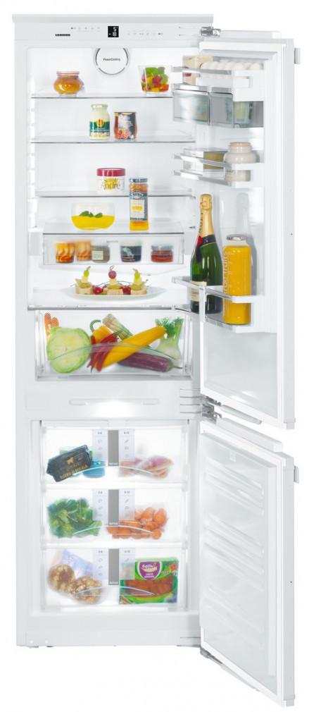 Liebherr SICN 3386 Beépíthető alul fagyasztós hűtőszekrény, bútorlap nélkül