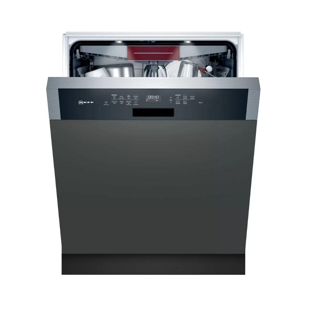 Neff S147ZCS35E Beépíthető mosogatógép, bútorlap nélkül