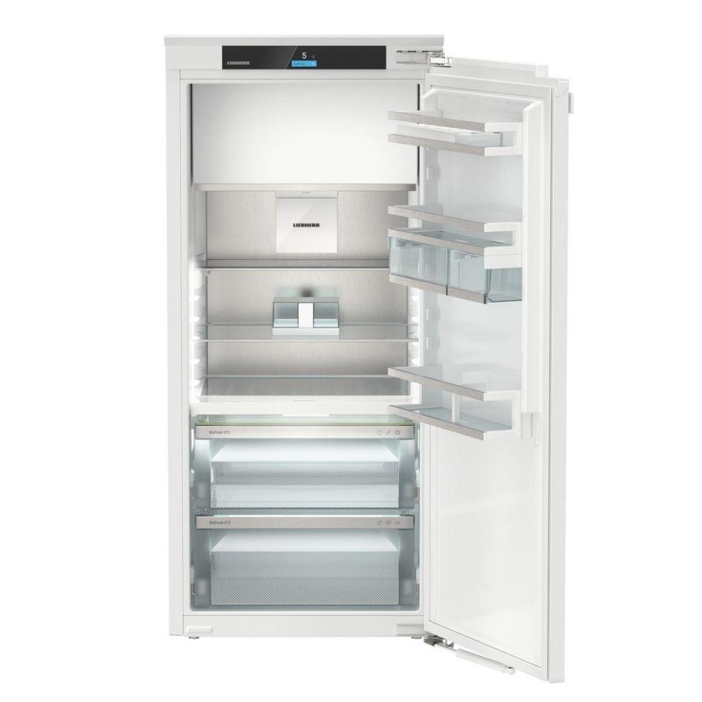 Liebherr IRBd 4151 Beépíthető egyajtós hűtőszekrény fagyasztóval, bútorlap nélkül