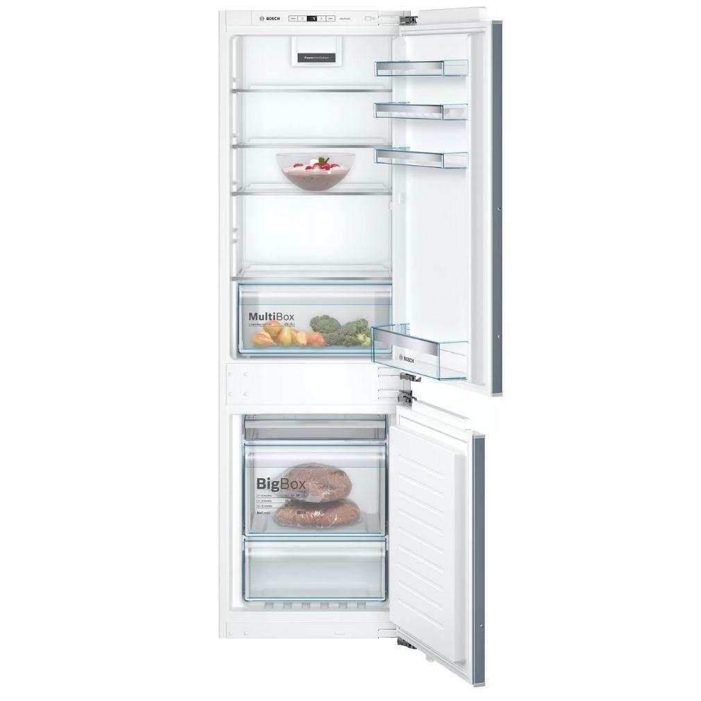 Bosch KIN86VFF0 Beépíthető Alulfagyasztós hűtőszekrény, bútorlap nélkül