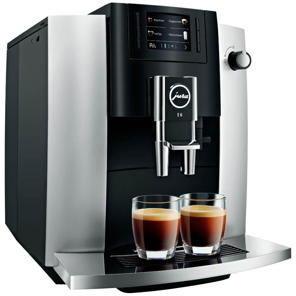 Jura E6 Őrlőműves automata kávéfőző